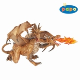 Papo Fantasy 38938 Two headed dragon gold
