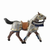 Papo 39247 armored horse blue